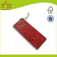 Quality Hangtags Thick Vintage Cardboard Paper Tag For Kids Garments Design for sale