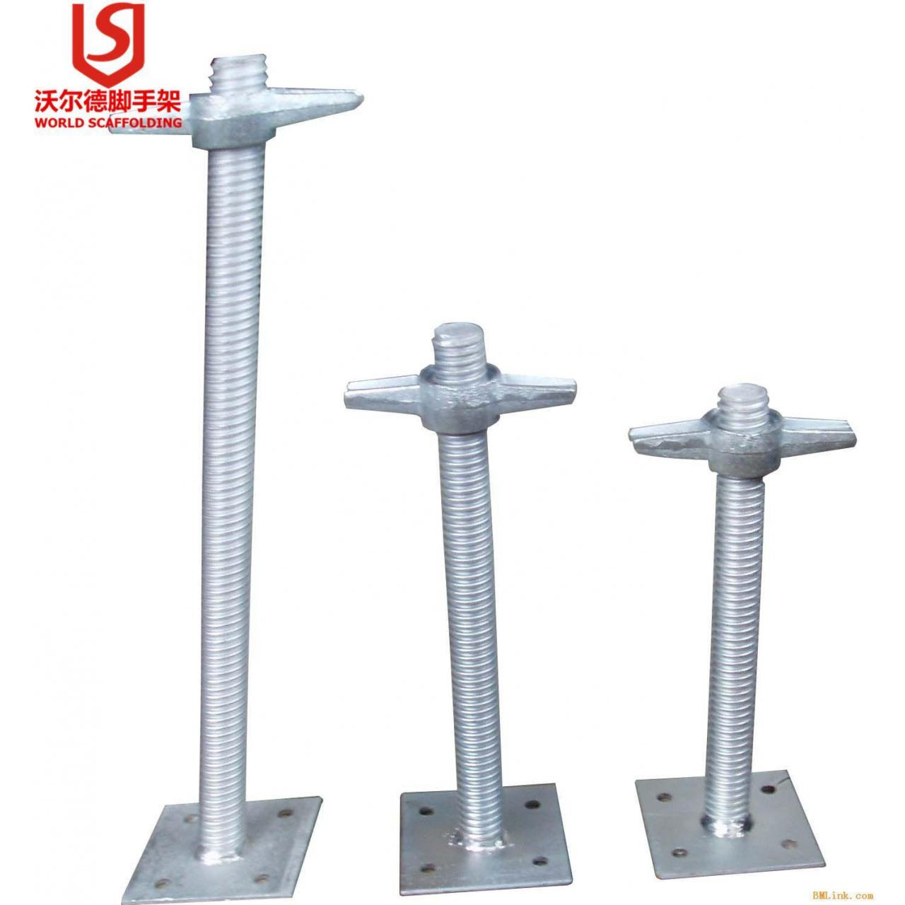 Quality 45*600 Solid Adjustable Base Jack for sale