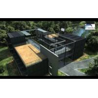 Quality Solar Panel Prefab Container Homes Fully Finished Movable For Office for sale