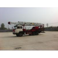 Truck Mounted 1000m 450HP Mobile Drill Rig Petroleum Drilling Rig