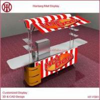 Quality China custom hot dog kiosk with taps and sinks for sale