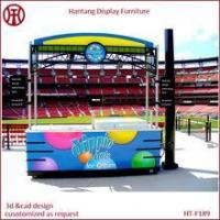 Quality outdoor retailer mall hot dog kiosk for sale for sale