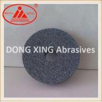 Quality 150x20x31.75mm Black Silicon Carbide Grinding Wheel for sale