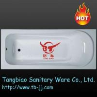 Quality TB-B002 Fiberglass Resin cheap acrylic bathtub for sale