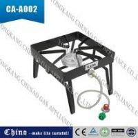 Quality Outdoor Portable Single Propane Burner, Camping Square Stove Gas Patio Cooker for sale