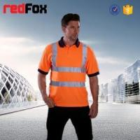 High Visibility Two tone Visitec microfibre vortex polo shirt