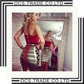 Buy Sexy Beading Bandage Dress Woman XXL dropshipping women clothing at wholesale prices