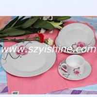 round-shaped porcelain dinner sets(30pcs/20pcs/19pcs/18pcs)YSDR2020