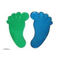 Quality P024 trade assurance supplier promotional PU foot shape sticky mat for sale