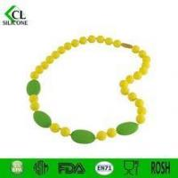 Quality 2015 New nontoxic Silicone colorful necklace Teether for sale