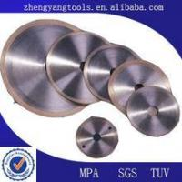 Quality resin bond diamond grinding wheels for metal for sale