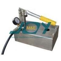 Quality Laboratory using stainless steel hydro pressure testing pump for sale