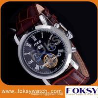 Quality mce western men flying tourbillon mechanical watch for sale
