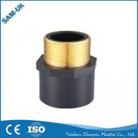 China 1-1/4 1-1/2 2 PVC Male Coupler With Copper SCH 80 MPT X Slip ASTM D2467 S35 on sale