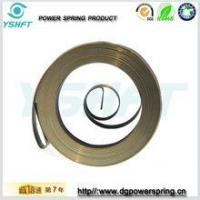 Quality electrical equipment flat wire spiral torsion springs for rewinder for sale