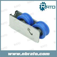 RL-136 PVC double sliding door roller