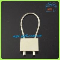 Quality wire rope metal keyring keychain for sale