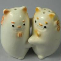 Ceramic Salt & Pepper Shakers Ceramic Animal Salt & Pepper Shakers