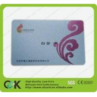 Quality SGS insurance pvc smart chip card from China supplier for sale