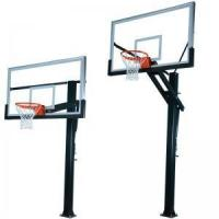 China Height Adjustable Outdoor Basketball Hoops on sale