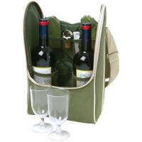 Quality Fashion custom made top genuine leather wine case for sale