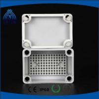 Outdoor ABS Material High-end Type Junction Box with plastic cable glands