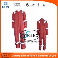 Quality Flame retardant rope Orange pyrovatax cotton faddish workwear with FR and heat insulation material for sale