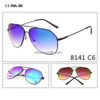 Customized Your Own Logo Metal Sunglasses With Polarized Sunglasses