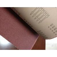 Buy cheap the super quality emery cloth roll for making wide belt KX167 abrasive belt type sanding belt from wholesalers