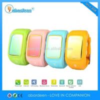 China GPS Tracker Cloud Service Kid GPS Watch on sale