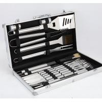 Quality 24PCS Stainless Steel BBQ Grill Tools BOX for sale
