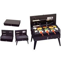 Quality Portable Notebook Folding BBQ Grill Box for sale