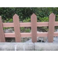 Quality outdoor wpc fence like real wood for sale