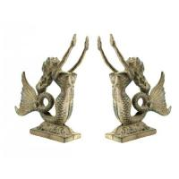 Quality Cast Iron Mermaid Bookends for sale