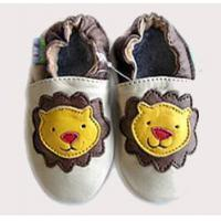 Baby Cowskin shoes (Yellow Lion)
