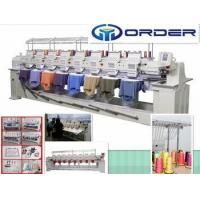 Quality China embroidery machine computerized, cap embroidery machine for 8 Head embroidery machine for sale