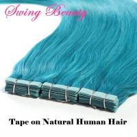 China Tape for Natural Human Hair Extensions American Super Blue Stick Tape on sale