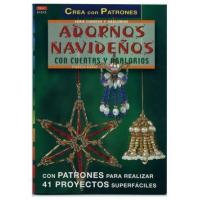 Handmade Christmas ornaments crafts with beads