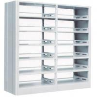Quality Hot Selling Full Steel Library Double-pillar Double-faced Bookshelf for sale