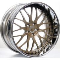 Quality Bronze 3 Piece Forged Wheel Rims for sale