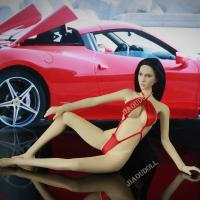 1/6 Action Figure Clothes Sexy Red Bikini for 12 inch action Figure Female Body
