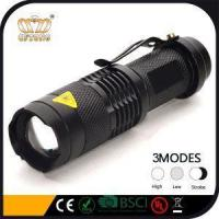 Buy cheap Waterproof Portable Aluminum Zoom 3W LED Police Tactical SK98 Flashlight from wholesalers