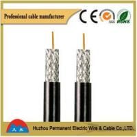 China PVC Insulated Flexible Round Multi-core Coaxial Cable on sale