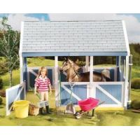 Breyer Horses Classics Size Horse Stable Cleaning Play Set