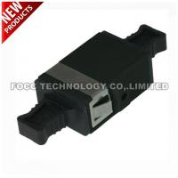 Best MTP MPO Fiber Optic Adapter Black Color Flangeless wholesale