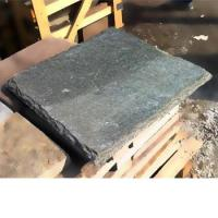 Buy cheap grey slate decorative wall caps from wholesalers