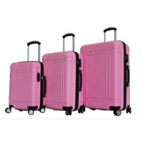 Buy cheap Pink Luggage 360-degree Wheels Zipper PP Suitcase from wholesalers