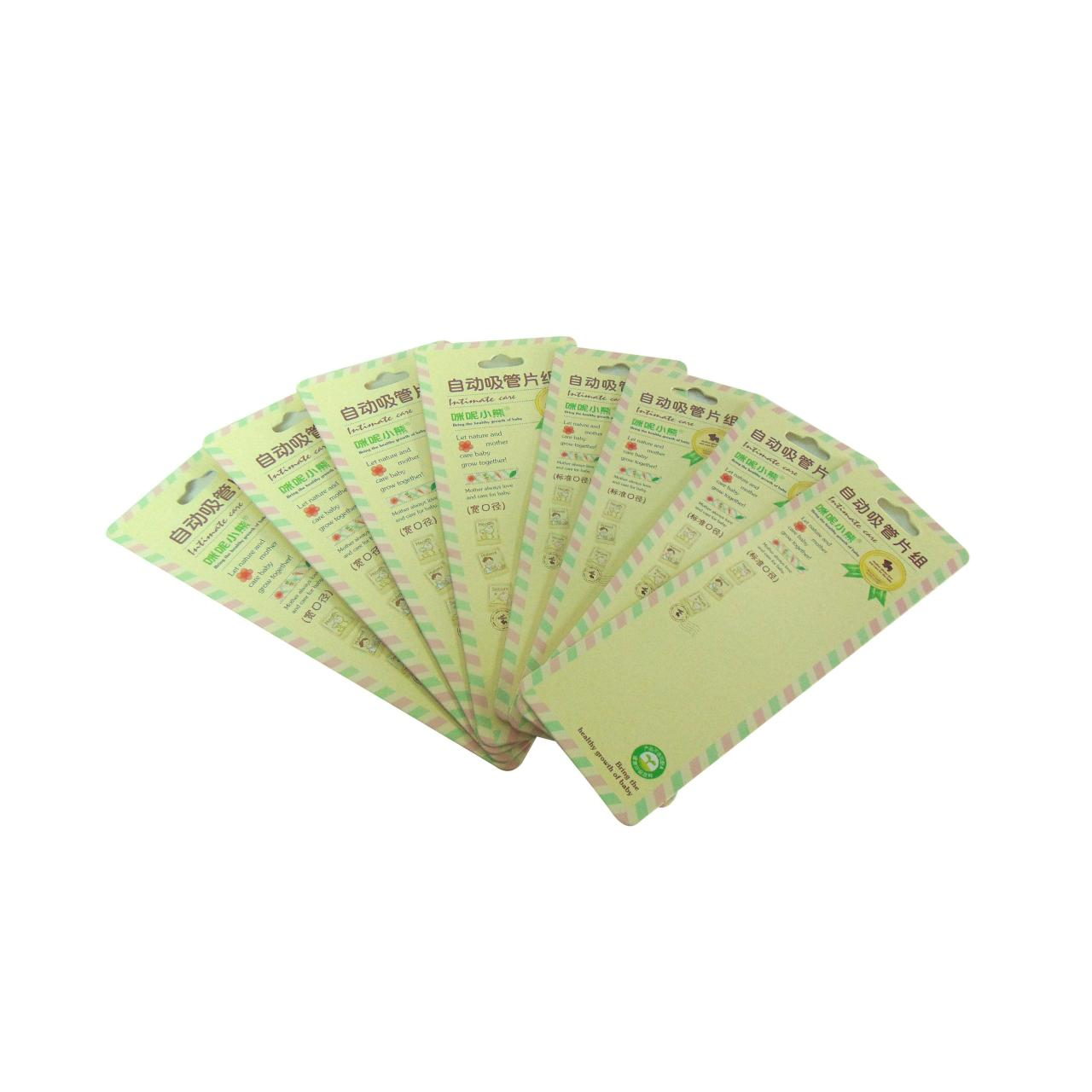 Buy cheap Blister packaging back card WX-B1002 from wholesalers