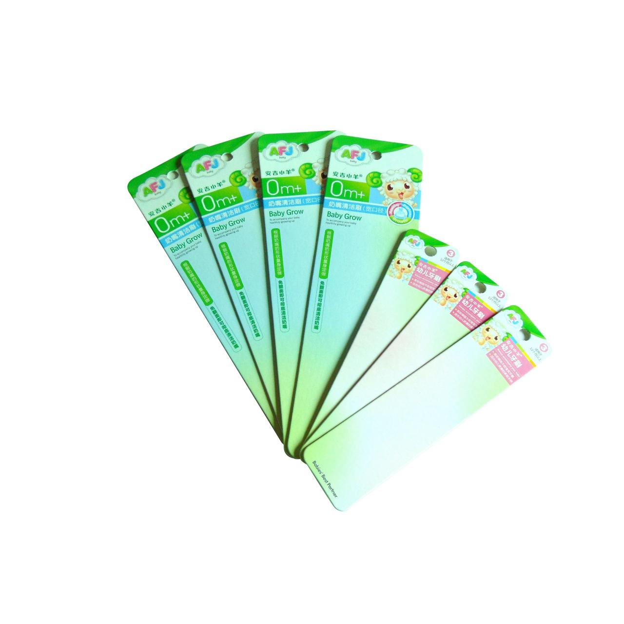 Buy cheap Blister packaging back card WX-B1008 from wholesalers