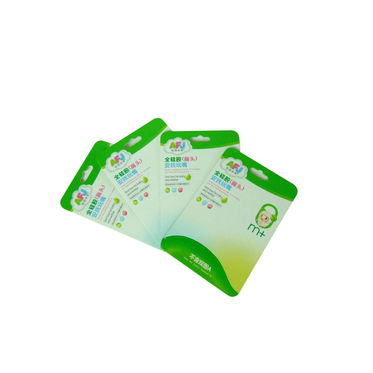 Buy cheap Blister packaging back card WX-B1009 from wholesalers